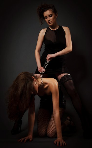 How To Be A Submissive: Women playing in slave